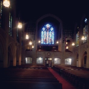Rob's instagram of St. Andrews-Wesley Church