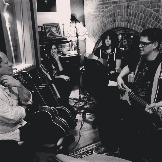 Sister Says Recording @ Watershed Studios