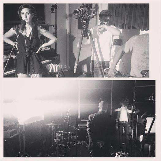 Video promo in the studio