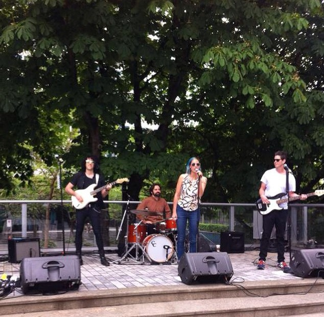 Sister Says with the full band at Reconciliation Matters on May 31st